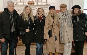 Rod Stewart and his band pay visit to Kilmainham Gaol
