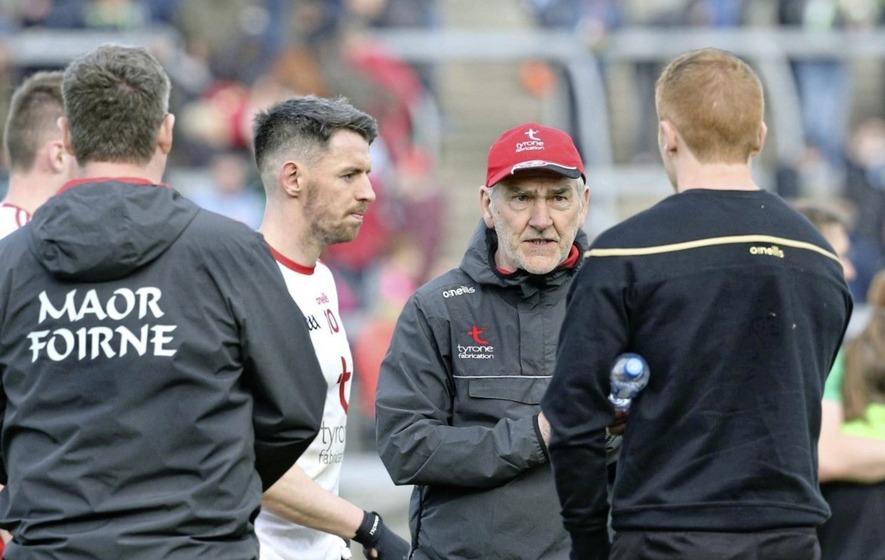 Jim Gavin departure will make Dublin stronger fears Tyrone boss Mickey Harte