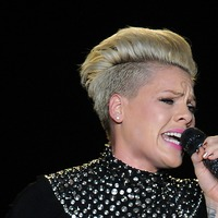 Pink shaves off her hair saying she is 'letting go'