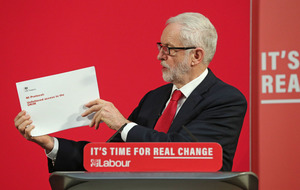 Video: Jeremy Corbyn reveals 'damning' government document detailing 'falsehoods' over Brexit border checks