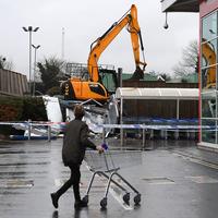Two cash machines stolen from Antrim Tesco store