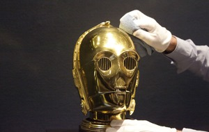 Rare Star Wars memorabilia goes on display ahead of auction