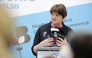 Arlene Foster optimistic over Stormont return but says she 'can't do it alone'