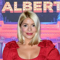 Holly Willoughby dazzles at Emma Bunton's Christmas party
