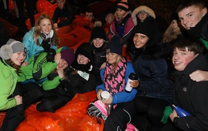 Global sleep-out shines spotlight on homelessness