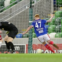 Paddy McLaughlin rues Liam Bagnall red card as Linfield clinch victory