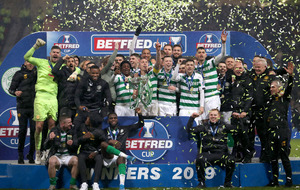 Celtic ride their luck to beat Rangers and secure 10th straight domestic trophy
