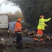 Strong winds and rain strike many parts of Ireland as Storm Atiyah makes its presence felt