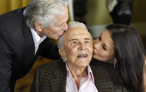 Catherine Zeta-Jones pays tribute to Kirk Douglas as he turns 103