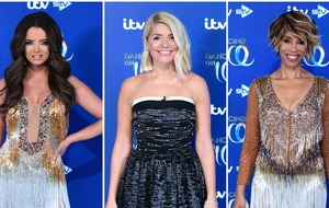 Stars bring the glamour to Dancing On Ice launch