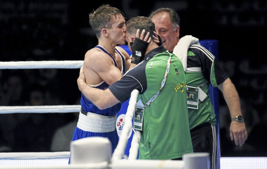 I wasn't going to do the corner against Michael Conlan in Rio reveals Irish fighter's long-term coach Billy Walsh