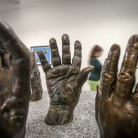 Bronze casts of Good Friday Agreement signatories displayed in new exhibition