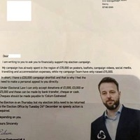 Colum Eastwood condemns 'dirty tactics' fake election letter