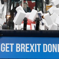 I want to break free: PM uses JCB to emphasise Brexit message