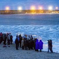 Family and friends of Deirdre McShane hold vigil at Ballycastle beach