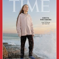 Greta Grunberg named Time Magazine's person of the year