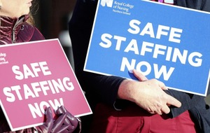 Nurses in Northern Ireland continue industrial action
