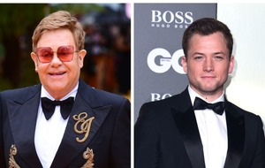 Sir Elton John congratulates Taron Egerton on SAG nomination