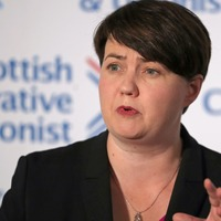 Ruth Davidson narrowly avoids skinny dipping in Loch Ness after SNP win 48 seats