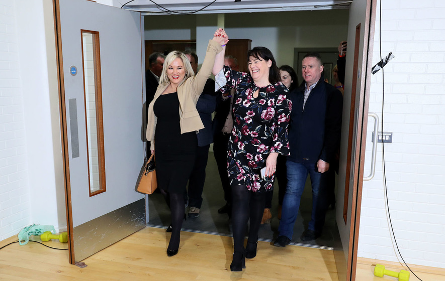Sinn Fein's Michelle Gildernew retains Fermanagh and South Tyrone by just 57 votes