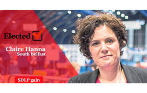 South Belfast: Claire Hanna unseats DUP's Emma Little-Pengelly with majority over 15,000