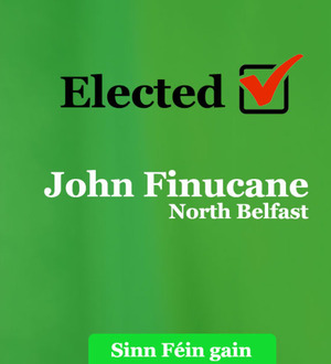 North Belfast rejects Brexit, says new MP John Finucane