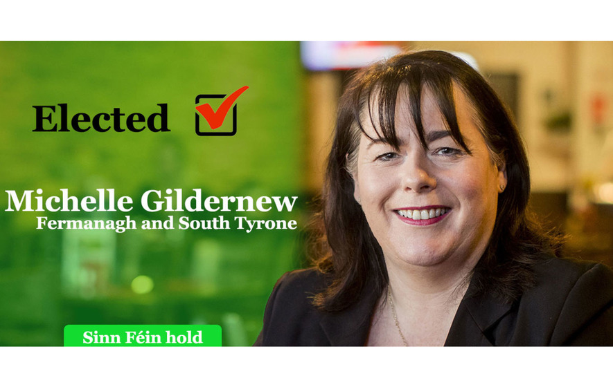 Fermanagh and South Tyrone: Sinn Fein's Michelle Gildernew retains seat by just 57 votes