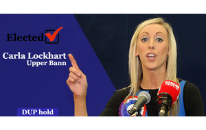 Upper Bann: Carla Lockhart will 'lean on' predecessor MP David Simpson