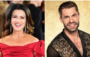 Susanna Reid leads stars congratulating Kelvin Fletcher for Strictly win