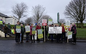 Parents fight closure of small rural primary school near Ballycastle