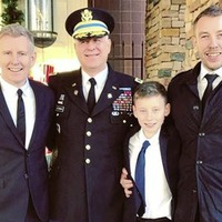 Patrick Kielty travels to Washington DC for funeral of war hero uncle