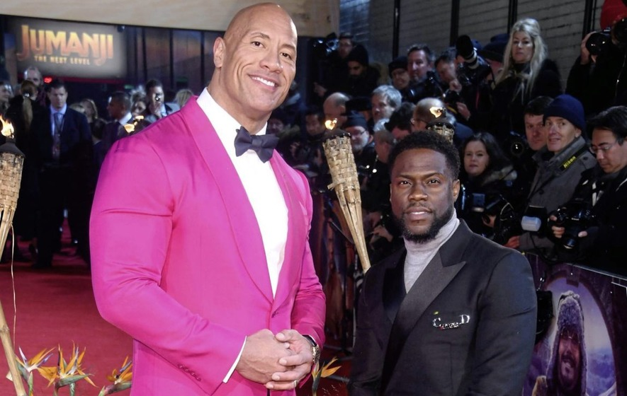 Jumanji Stars Dwayne Johnson And Kevin Hart You Ve Got To
