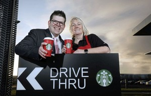 The largest Starbucks drive-thru in Northern Ireland has opened