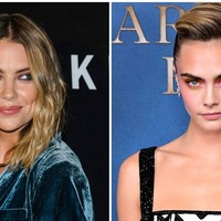 Cara Delevingne kisses girlfriend Ashley Benson in birthday tribute picture