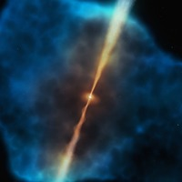 Astronomers identify 'food source' that fuels supermassive black holes