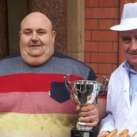 Bricklayer topples 'nemesis' to become new World Pie Eating Champion