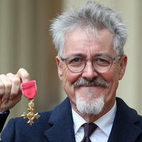Comedian Griff Rhys Jones 'humbled' as he collects OBE