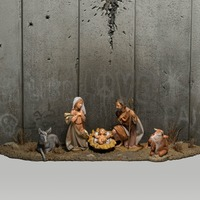Banksy unveils 'Scar of Bethlehem' nativity mural