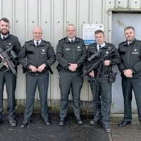 Crossmaglen people angered as Chief Constable Simon Byrne posts picture with 'heavily armed' officers