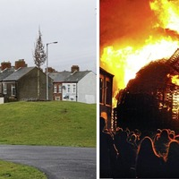 Trees planted at Christmas on site of UVF-linked bonfire in east Belfast