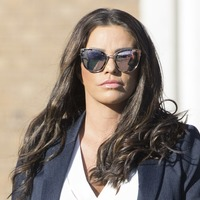 Katie Price reflects on 'difficult year' after bankruptcy ruling