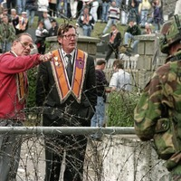 Ulster Unionist leader David Trimble at centre of Drumcree dispute