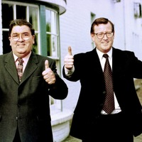 David Trimble complained dealing with John Hume 'like grappling with fog'