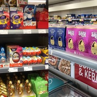 Easter eggs spotted on supermarket shelves just days after Christmas