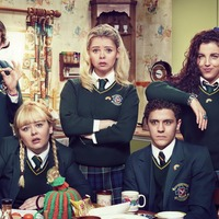 Derry Girls cast cause festive mayhem in New Year's Great British Bake Off