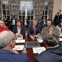 Julian Smith to update Boris Johnson on Stormont talks