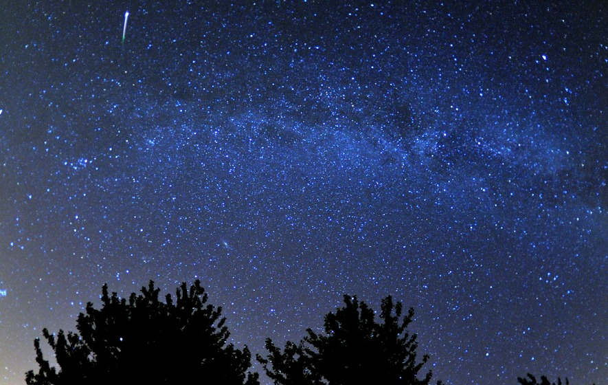 Meteor shower peaks Friday night, visible across Alaska
