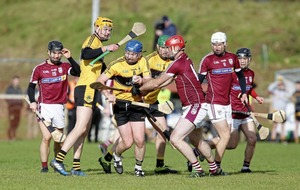 Ryan Bogue enjoying the high road with St Enda's Glengormley