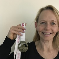 Cancer survivor says running helped her to feel in control of her life
