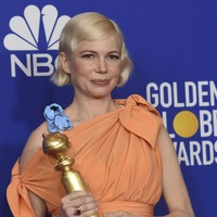 Pregnant Michelle Williams gives impassioned Globes speech on abortion rights